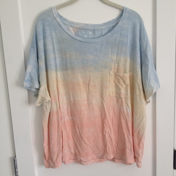 Tri-Coloured Baggy T-Shirt